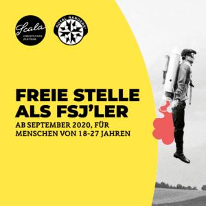 Freie Stelle als FSJ'ler ab September 2021